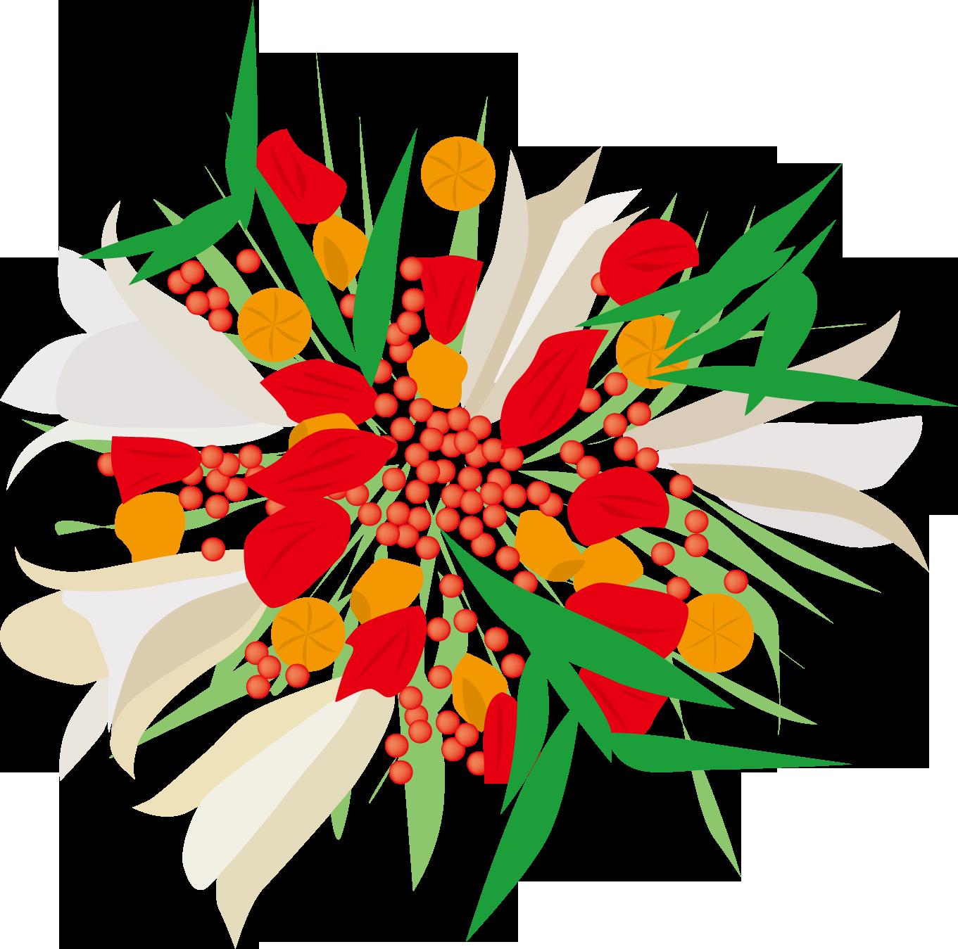 花のイラスト・フリー素材|ダウンロード05【素材っち】