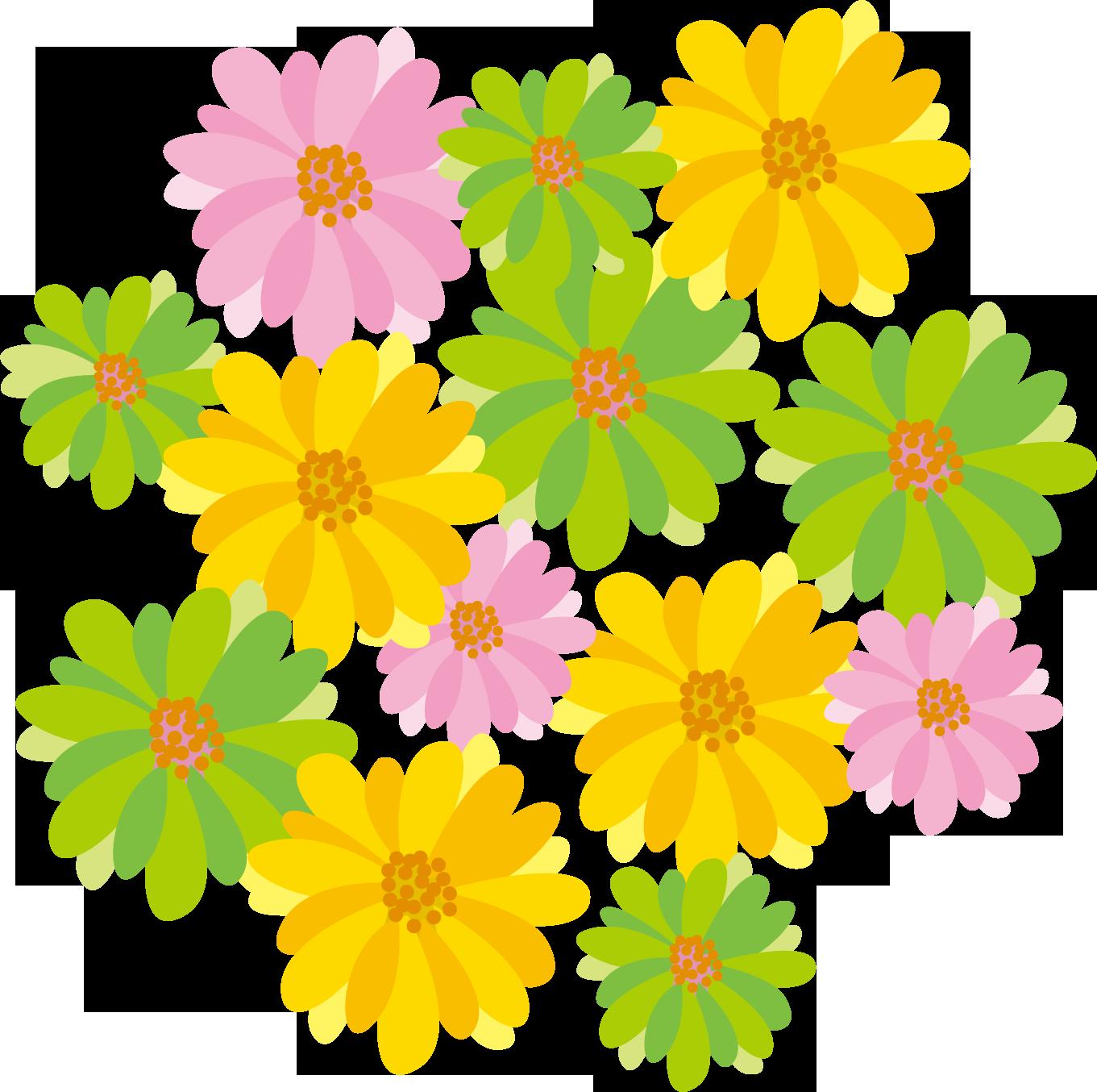 花のイラスト・フリー素材|ダウンロード07【素材っち】