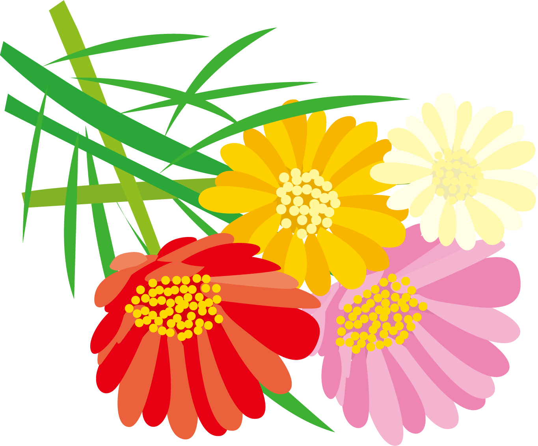 花のイラスト・フリー素材|ダウンロード09【素材っち】