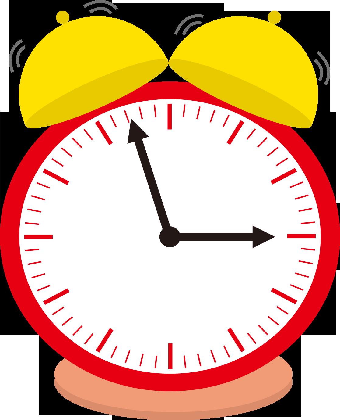 時計のイラスト・フリー素材|ダウンロード02【素材っち】