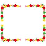 囲み枠・フレームのイラスト(無料ダウンロード05)