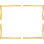 囲み枠・フレームのイラスト(無料ダウンロード06)