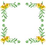 囲み枠・フレームのイラスト(無料ダウンロード07)