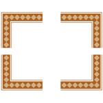 囲み枠・フレームのイラスト(無料ダウンロード09)