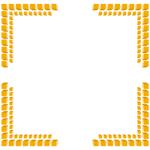 コーナーフレーム枠のフリーイラスト素材(無料ダウンロード13)