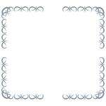 囲み枠・フレームのイラスト(無料ダウンロード22)