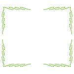 囲み枠・フレームのイラスト(無料ダウンロード24)