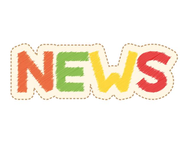 クレヨン画のニュースPOPデザイン、フリー素材